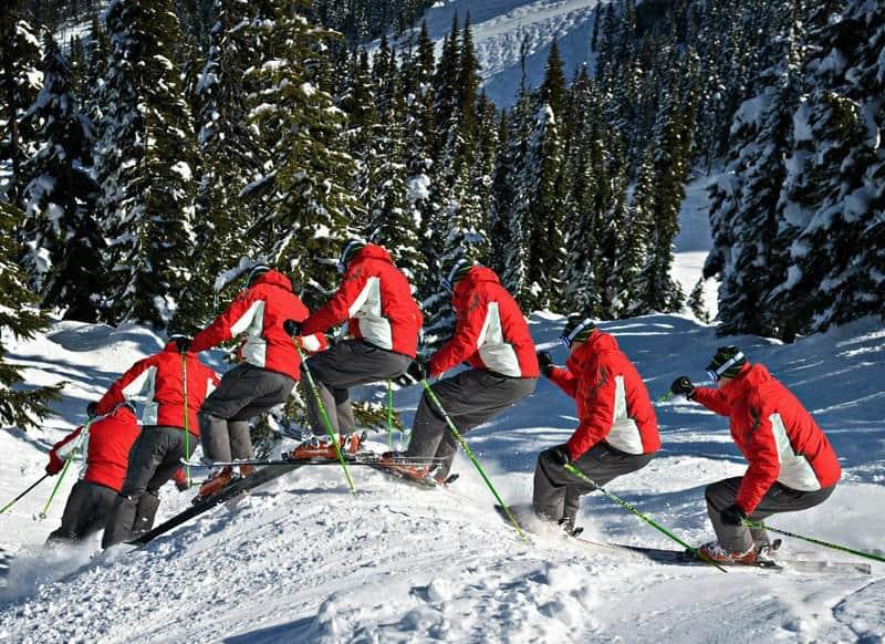 Image of a Ski Moguls Lesson