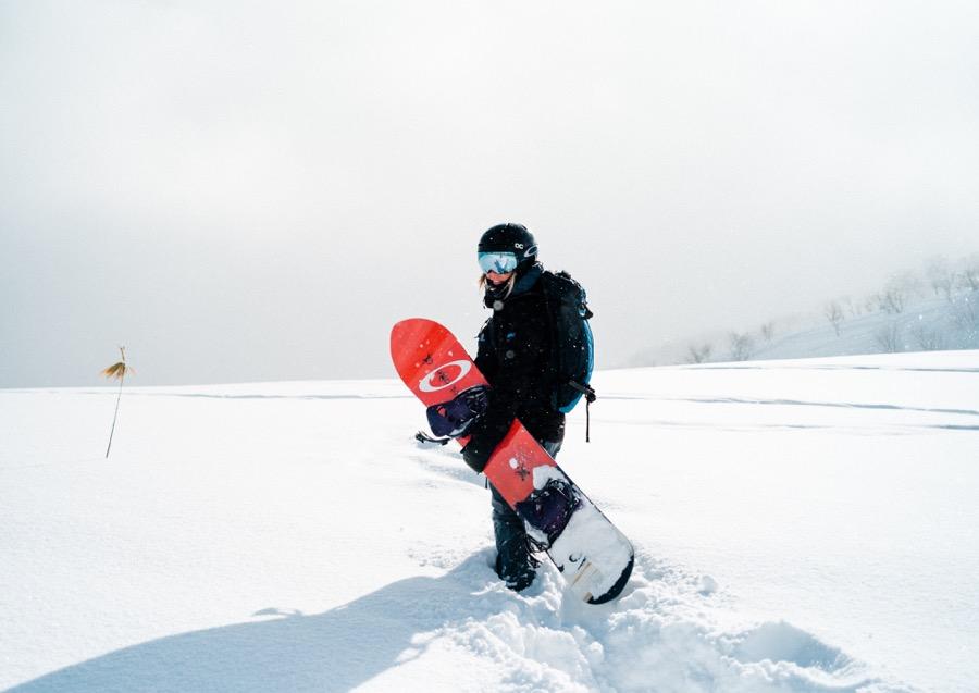 Woman Snowboard Sport